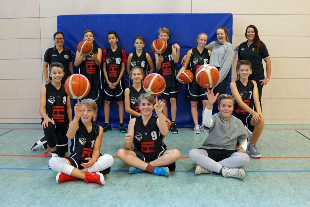 TSV Solln Basketball u14 männlich Team