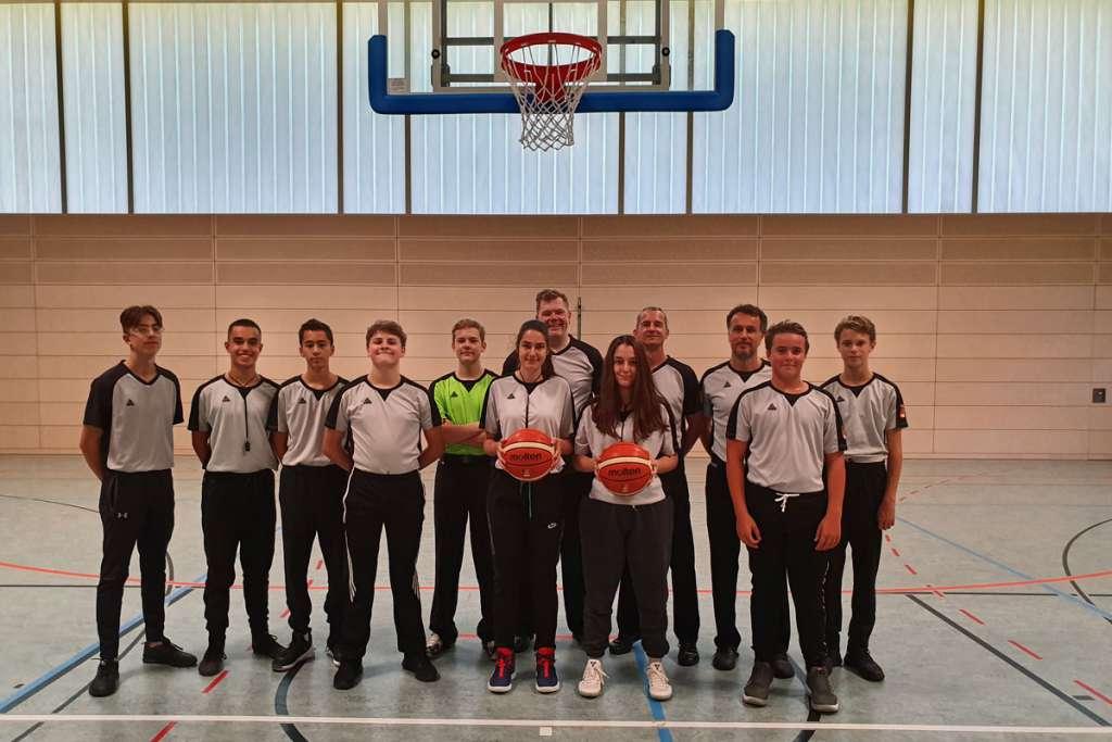 Basketball Schiedsrichter des TSV Solln
