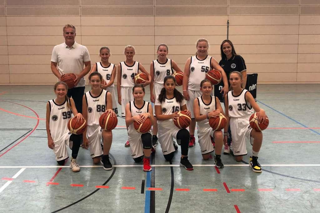 TSV Solln Basketbal u14 weiblich Team