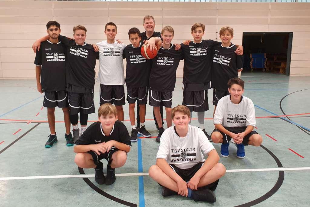 TSV Solln Basketball u16 männlich Team
