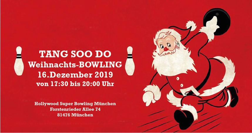 Tang Soo Do Weihnachtsbowling