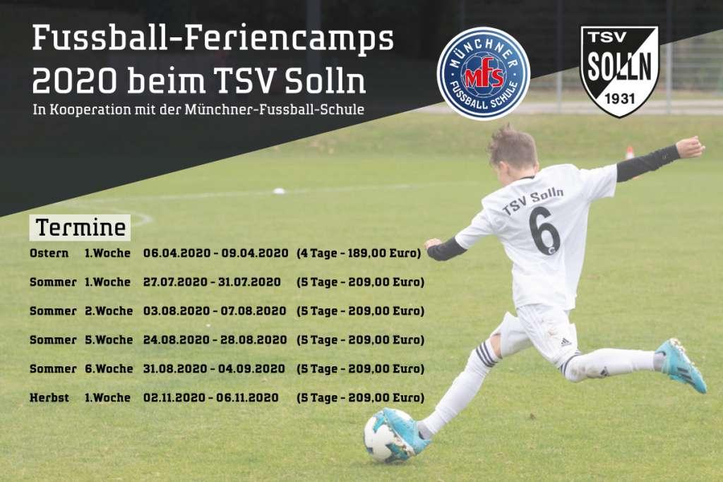 Flyer Kooperation TSV Solln und MFS